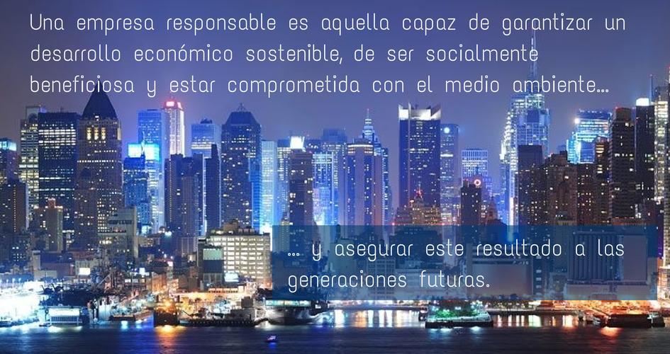Empresas responsables que cambian el mundo