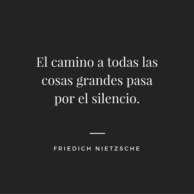 Aprender a hacer silencio